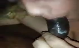 Nasty whore recorded while blowjob - thumb 1