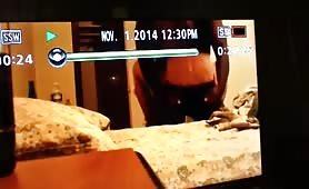 Watching his wife being blacked on home TV 2 - thumb 5