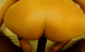 Too much BBC for her white ass!