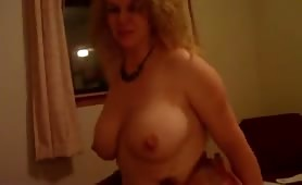 Slut Wife With Nice Boobs Enjoying Good Fucking